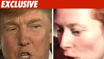 Trump Fires Back -- Tilda's 'Hanging by a Thread'