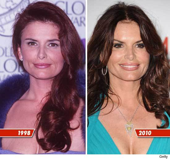 Roma Downey Good Genes Or Good Docs Tmzcom