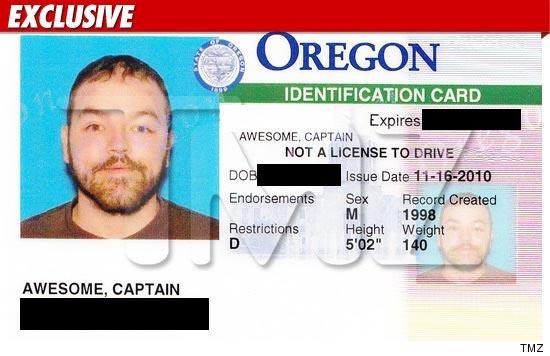 'captain Awesome' Tmz Gets com Dude Id'd