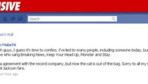 MJ Soundalike -- That's Not My Facebook Page!
