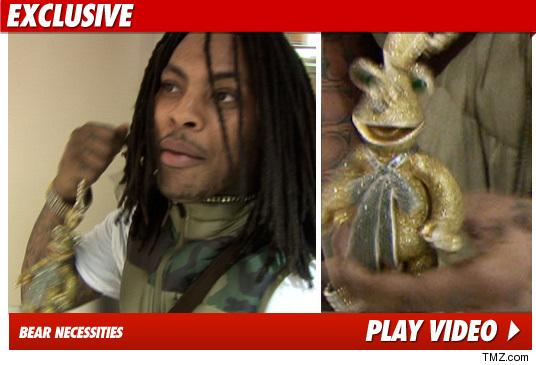 Waka Flocka Flame -- Check Out My $100,000 Muppet | TMZ.com Fozzie Bear Waka Flocka