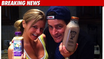 Charlie Sheen's First Tweet -- The 'Naked' Pose