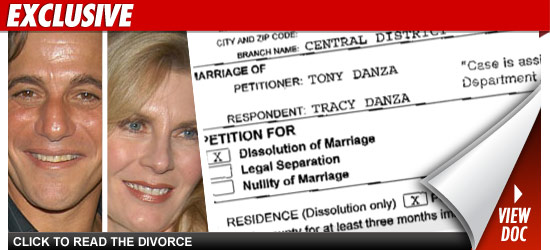 Tony Danza Files For Divorce From Tracy Danza Tmzcom