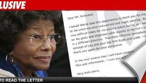 Katherine Jackson Fires Her Lawyer