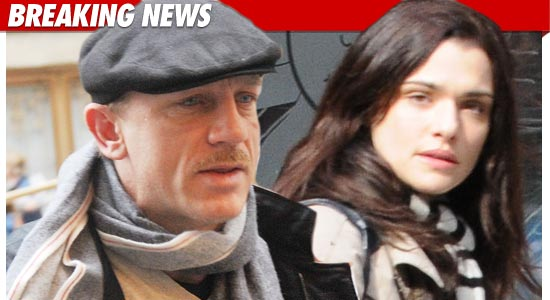 Daniel Craig And Rachel Weisz Wedding Married Tmzcom