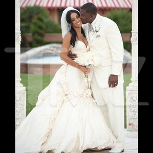 Antonio Gates' Wedding Photos -- TOUCHDOWN!