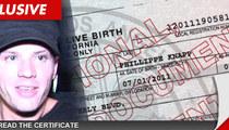 Ryan Phillippe's Alleged Baby -- Taking Ryan's Last Name