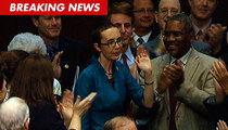Rep. Gabby Giffords Returns to Congress