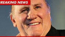 Gerard Depardieu Pisses On Air France