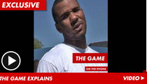 The Game Sets the Record Straight on 'Gay' Comments