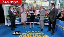 George Stephanopoulos -- Too Short for Morning TV?