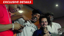 Will Smith -- Marc Anthony's Guest at Monday Night Football