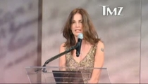 Kim Delaney -- Yanked Off Stage At U.S. Military Event