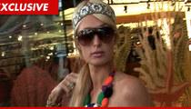 Paris Hilton -- I TOLD YOU ... I Didn't Pilfer the Pearls!