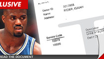 NBA Star Isaiah Rider -- The Proof Is in My Pee