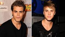 'Vamp Diaries' Star & Justin Bieber -- Separated by Boy Bangs!