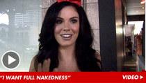 Playmate Jayde Nicole -- Lindsay Lohan Better Go 'Spread Eagle'