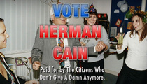Herman Cain -- Sex Harassment Claims Good for His Campaign