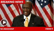 Herman Cain Rips New Accuser -- I Don't Even Know Who She Is!