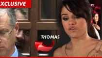 Selena Gomez' Alleged Stalker To Be Released -- Criminal Charges DISMISSED
