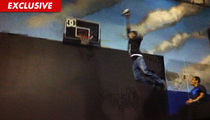 NBA Star Rudy Gay [Video] -- I Bet I Can Dunk on 25 Foot Hoop