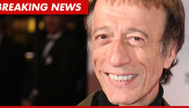 Robin Gibb -- Report: Diagnosed with Liver Cancer