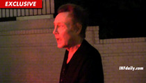 Christopher Walken on Natalie Wood Death Case -- I Don't Know (Wink)