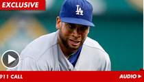 L.A. Dodger James Loney -- The Maserati-Smashing 911 Call -- He 'Tried to Flee the Scene'