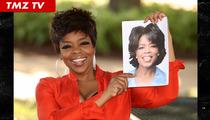 Fake Oprah Winfrey -- Milking it For All It's Worth