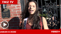 Openly Gay Miss California Contestant -- Here for the Party ...  and the Pageant