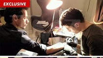 Marc Anthony to Shannon De Lima  -- This Tattoo's for YOU ... and America