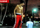 Justin Bieber Tantalizes Crowd with Shirtless Skateboarding Exhibition