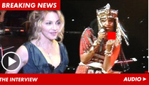 Madonna -- M.I.A.'s Middle Finger Stunt Was Stupid and Childish