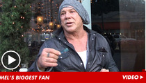 Mickey Rourke -- Joe Eszterhas Is Just Bitter Mel Gibson Didn't Like His Script