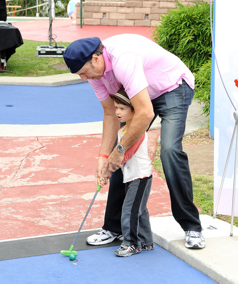 Kevin Nealon and son