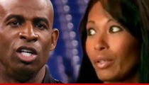 Deion Sanders -- Cited for Assault in Fight with Wife Pilar Sanders