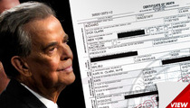 Dick Clark Death Certificate -- Prostate Surgery Before Heart Attack