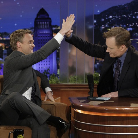Neil Patrick Harris and Conan O/Brien