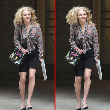 Can you spot the THREE differences in the AnnaSophia Robb picture?