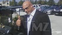 Junior Seau Memorial -- WWE Legend Bill Goldberg Arrives