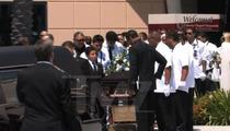 Junior Seau Memorial -- Casket Hits the Road