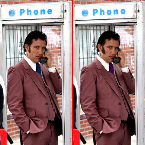 Can you spot the THREE differences in the Clive Owen picture?