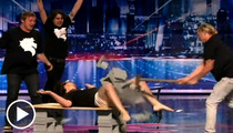 'America's Got Talent' Star -- My Smashed Nuts Are Fine!