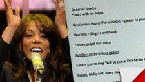 Donna Summer -- The Funeral Program