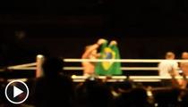 WWE Star Chris Jericho -- Narrow Escape from Angry Brazilian Mob