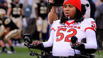 Paralyzed College Football Star Eric LeGrand -- To Be Honored with Manliest of Man Awards