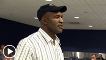 Evander Holyfield -- One Very Biting Question