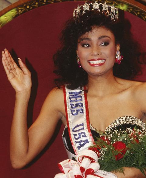 Miss USA (Michigan) 1990 Carole Anne-Marie Gist