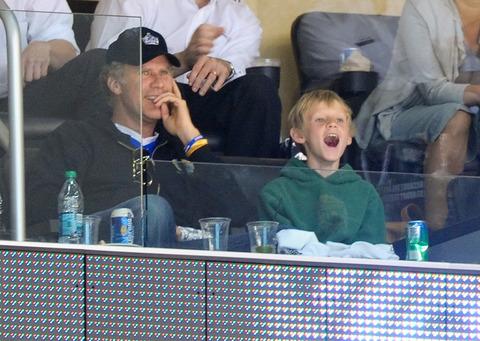 Will Ferrell and Magnus Ferrell