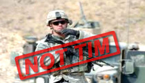 'America's Got Talent' Timothy Poe -- Soldier Photo's A FAKE